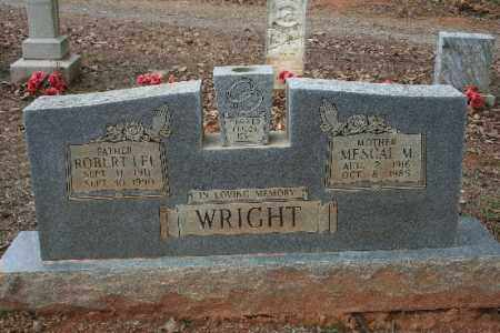 WRIGHT, MESCAL M - Crawford County, Arkansas | MESCAL M WRIGHT - Arkansas Gravestone Photos