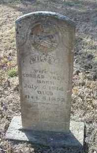 YOES, WILSEY - Crawford County, Arkansas | WILSEY YOES - Arkansas Gravestone Photos