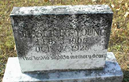 YOUNG, JESSE LEE - Crawford County, Arkansas   JESSE LEE YOUNG - Arkansas Gravestone Photos