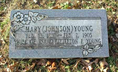 YOUNG, MARY - Crawford County, Arkansas | MARY YOUNG - Arkansas Gravestone Photos