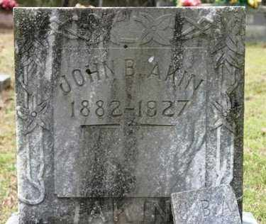 AKIN, JOHN B - Crawford County, Arkansas | JOHN B AKIN - Arkansas Gravestone Photos