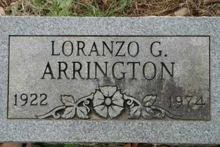 ARRINGTON, LORANZO G - Crawford County, Arkansas | LORANZO G ARRINGTON - Arkansas Gravestone Photos
