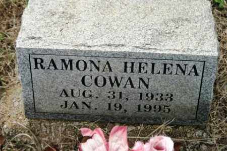 COWAN, RAMONA HELENA - Crawford County, Arkansas | RAMONA HELENA COWAN - Arkansas Gravestone Photos