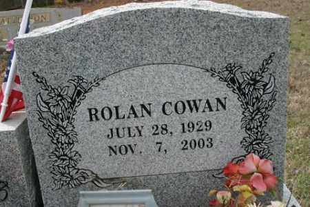 COWAN, ROLAN - Crawford County, Arkansas | ROLAN COWAN - Arkansas Gravestone Photos
