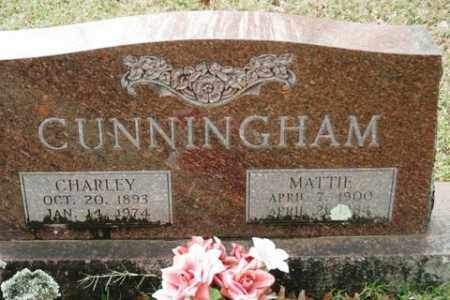 CUNNINGHAM, MATTIE - Crawford County, Arkansas | MATTIE CUNNINGHAM - Arkansas Gravestone Photos
