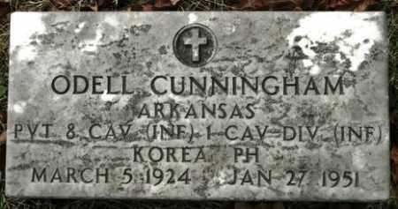 CUNNINGHAM (VETERAN KOR), ODELL - Crawford County, Arkansas | ODELL CUNNINGHAM (VETERAN KOR) - Arkansas Gravestone Photos
