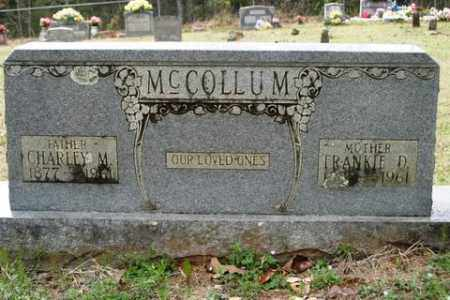 MCCOLLUM, FRANKIE D - Crawford County, Arkansas | FRANKIE D MCCOLLUM - Arkansas Gravestone Photos