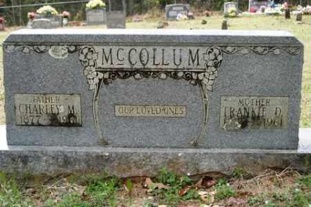 MCCOLLUM, CHARLEY MARTIN - Crawford County, Arkansas | CHARLEY MARTIN MCCOLLUM - Arkansas Gravestone Photos
