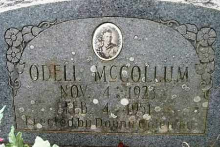 MCCOLLUM, ODELL - Crawford County, Arkansas | ODELL MCCOLLUM - Arkansas Gravestone Photos