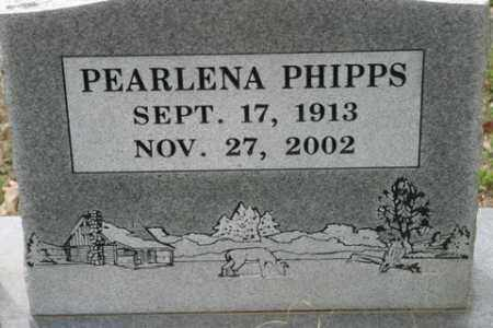 PHIPPS, PEARLENA - Crawford County, Arkansas | PEARLENA PHIPPS - Arkansas Gravestone Photos