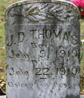 THOMAS, J D - Crawford County, Arkansas | J D THOMAS - Arkansas Gravestone Photos