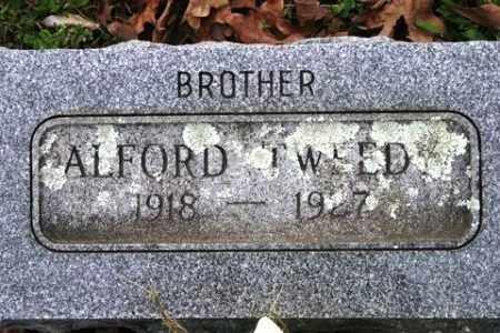 TWEEDY, ALFORD - Crawford County, Arkansas | ALFORD TWEEDY - Arkansas Gravestone Photos