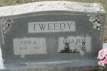 TWEEDY, COY A - Crawford County, Arkansas | COY A TWEEDY - Arkansas Gravestone Photos