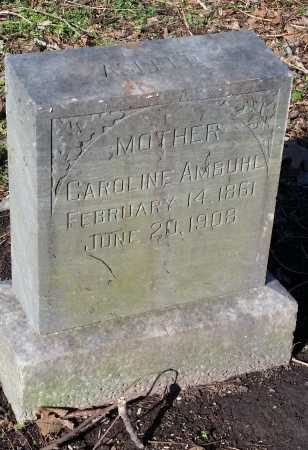 AMBUHL, CAROLINE - Crittenden County, Arkansas | CAROLINE AMBUHL - Arkansas Gravestone Photos