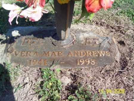 ANDREWS, VERA MAE - Crittenden County, Arkansas | VERA MAE ANDREWS - Arkansas Gravestone Photos