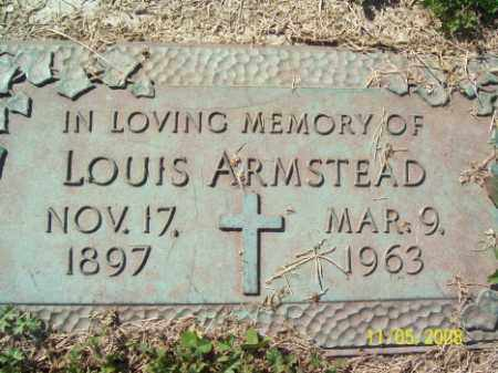 ARMSTEAD, LOUIS - Crittenden County, Arkansas | LOUIS ARMSTEAD - Arkansas Gravestone Photos