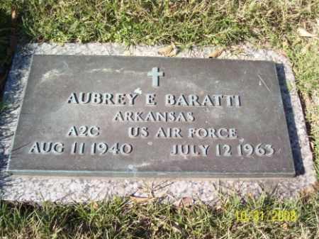 BARATTI, AUBREY E. - Crittenden County, Arkansas | AUBREY E. BARATTI - Arkansas Gravestone Photos
