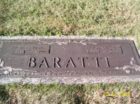 BARATTI SR, JOHN L. - Crittenden County, Arkansas | JOHN L. BARATTI SR - Arkansas Gravestone Photos