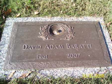BARATTI, DAVID ADAM - Crittenden County, Arkansas | DAVID ADAM BARATTI - Arkansas Gravestone Photos