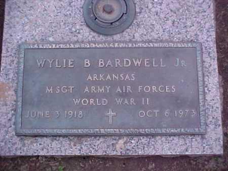 BARDWELL, JR (VETERAN WWII), WYLIE B - Crittenden County, Arkansas | WYLIE B BARDWELL, JR (VETERAN WWII) - Arkansas Gravestone Photos