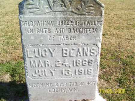 BEANS, LUCY - Crittenden County, Arkansas | LUCY BEANS - Arkansas Gravestone Photos