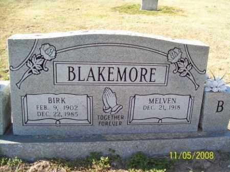 BLAKEMORE, BIRK - Crittenden County, Arkansas | BIRK BLAKEMORE - Arkansas Gravestone Photos