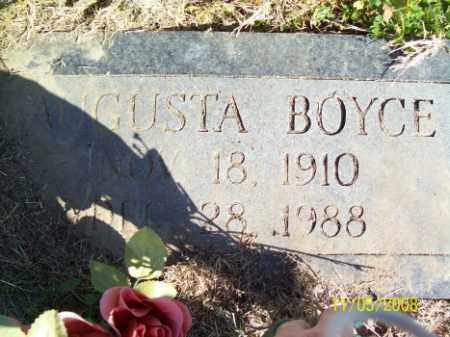 BOYCE, AUGUSTA - Crittenden County, Arkansas | AUGUSTA BOYCE - Arkansas Gravestone Photos