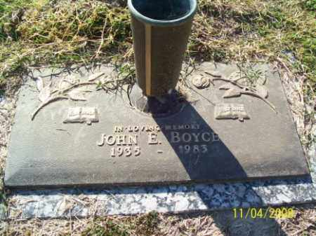 BOYCE, JOHN E. - Crittenden County, Arkansas | JOHN E. BOYCE - Arkansas Gravestone Photos