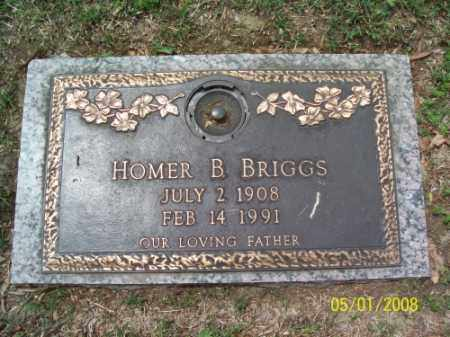 BRIGGS, HOMER B. - Crittenden County, Arkansas | HOMER B. BRIGGS - Arkansas Gravestone Photos