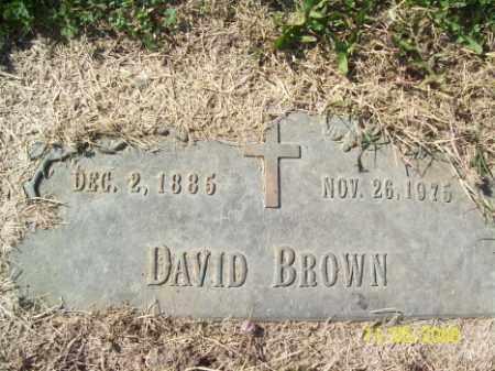 BROWN, DAVID - Crittenden County, Arkansas | DAVID BROWN - Arkansas Gravestone Photos