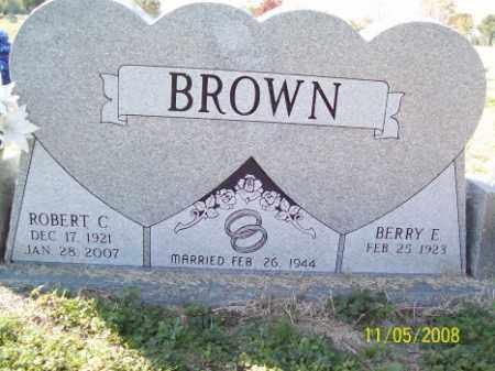BROWN, ROBERT C. - Crittenden County, Arkansas | ROBERT C. BROWN - Arkansas Gravestone Photos