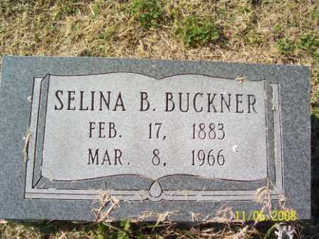 BUCKNER, SELINA B. - Crittenden County, Arkansas | SELINA B. BUCKNER - Arkansas Gravestone Photos