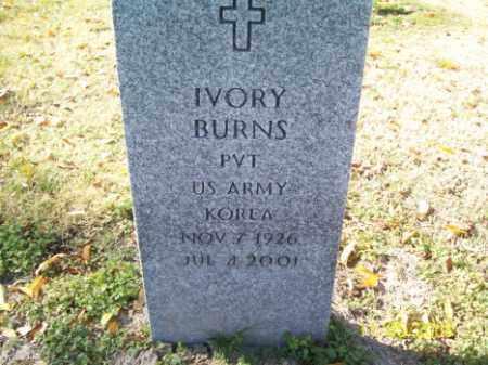 BURNS (VETERAN KOR), IVORY - Crittenden County, Arkansas | IVORY BURNS (VETERAN KOR) - Arkansas Gravestone Photos