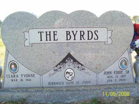 BYRD, JOHN EDDIE, SR. - Crittenden County, Arkansas | JOHN EDDIE, SR. BYRD - Arkansas Gravestone Photos