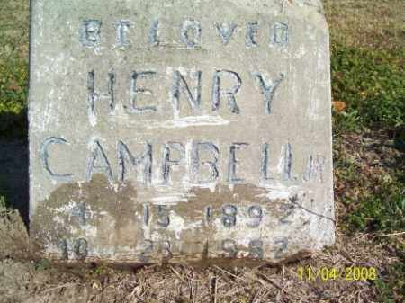 CAMPBELL, HENRY JR. - Crittenden County, Arkansas | HENRY JR. CAMPBELL - Arkansas Gravestone Photos