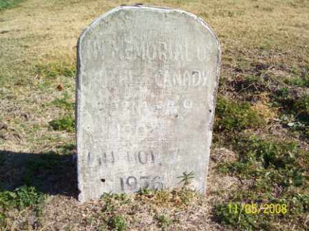 CANADY, RUTHIE - Crittenden County, Arkansas | RUTHIE CANADY - Arkansas Gravestone Photos