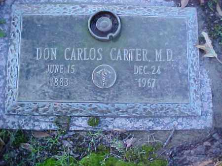 CARTER, DON CARLOS DR - Crittenden County, Arkansas | DON CARLOS DR CARTER - Arkansas Gravestone Photos