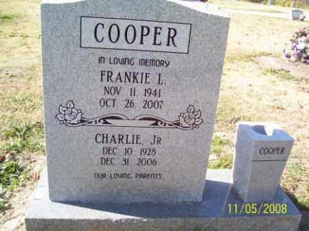 COOPER, FRANKIE L. - Crittenden County, Arkansas | FRANKIE L. COOPER - Arkansas Gravestone Photos