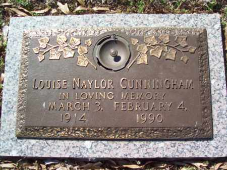 NAYLOR CUNNINGHAM, LOUISE - Crittenden County, Arkansas | LOUISE NAYLOR CUNNINGHAM - Arkansas Gravestone Photos