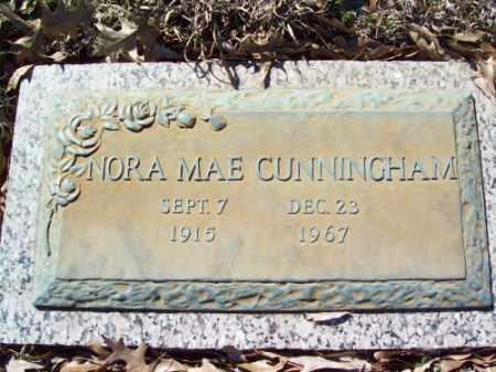 CUNNINGHAM, NORA MAE - Crittenden County, Arkansas | NORA MAE CUNNINGHAM - Arkansas Gravestone Photos