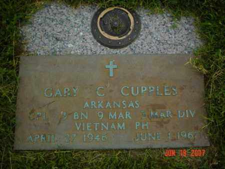 CUPPLES, GARY C. - Crittenden County, Arkansas | GARY C. CUPPLES - Arkansas Gravestone Photos