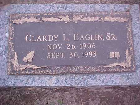 EAGLIN, CLARDY L - Crittenden County, Arkansas | CLARDY L EAGLIN - Arkansas Gravestone Photos
