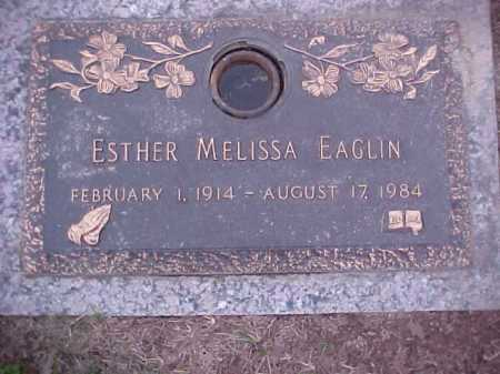 EAGLIN, ESTHER MELISSA - Crittenden County, Arkansas | ESTHER MELISSA EAGLIN - Arkansas Gravestone Photos