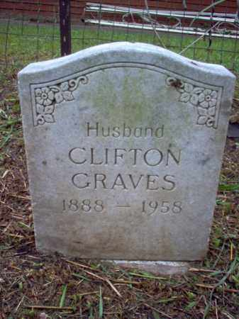 GRAVES, CLIFTON - Crittenden County, Arkansas | CLIFTON GRAVES - Arkansas Gravestone Photos