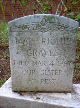 RICHIE GRAVES, MAE - Crittenden County, Arkansas | MAE RICHIE GRAVES - Arkansas Gravestone Photos