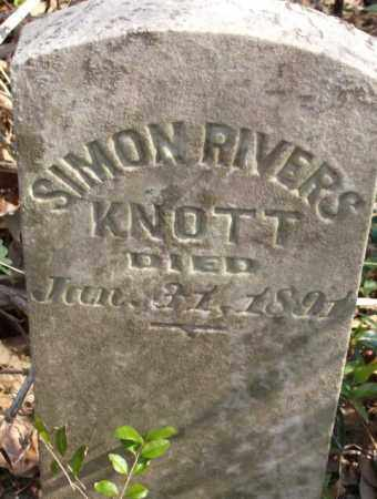 KNOTT, SIMON RIVERS - Crittenden County, Arkansas | SIMON RIVERS KNOTT - Arkansas Gravestone Photos
