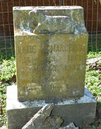 MARGERUM, KATIE - Crittenden County, Arkansas | KATIE MARGERUM - Arkansas Gravestone Photos