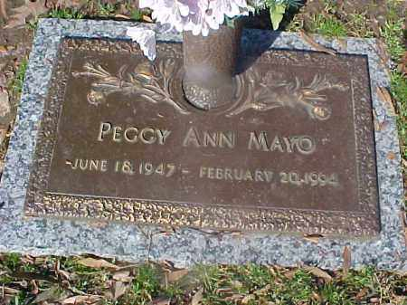 MAYO, PEGGY ANN - Crittenden County, Arkansas | PEGGY ANN MAYO - Arkansas Gravestone Photos