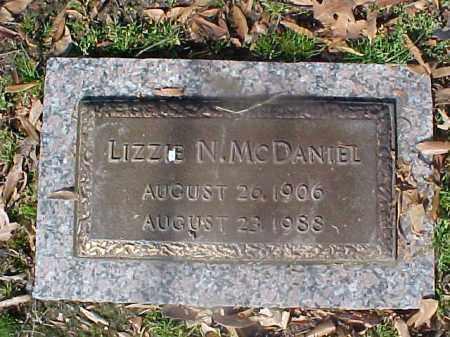 MCDANIEL, LIZZIE N - Crittenden County, Arkansas | LIZZIE N MCDANIEL - Arkansas Gravestone Photos