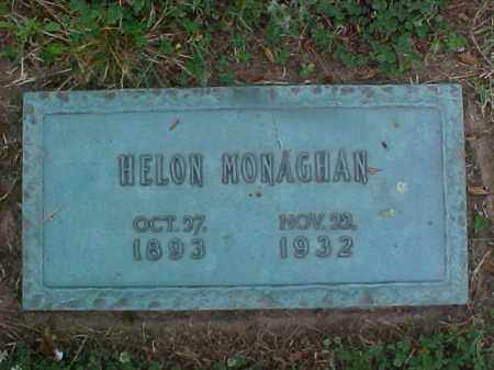 MONAGHAN, HELON - Crittenden County, Arkansas | HELON MONAGHAN - Arkansas Gravestone Photos